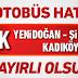 Yenidoğan'dan Marmaray'a: Yeni otobüs hattı hizmete girdi