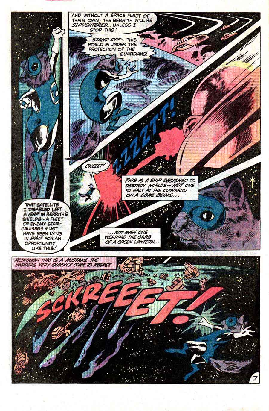 Green Lantern v2 #148 dc comic book page art by Don Newton