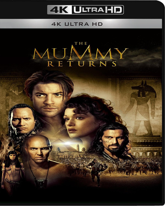 The Mummy Returns [2001] [UHD] [2160p] [Latino]