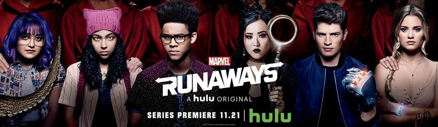 Série Fugitivos da Marvel - Runaways 1ª Temporada Dublada para download