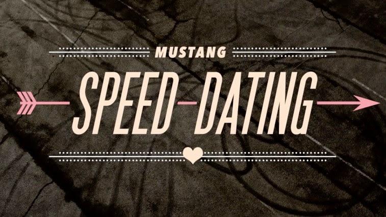 Mustang speed dating girl