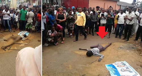 Flying bird falls and allegedly turns into a human being in Port Harcourt