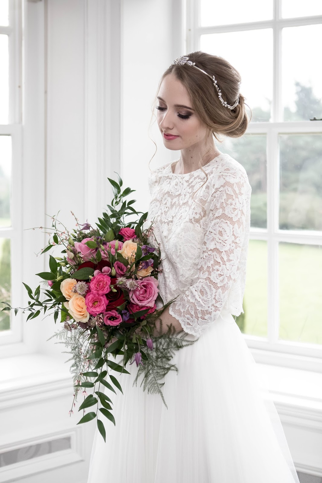 Bridal Wedding Model Blogger in Hampshire