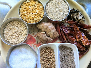 Allam Chutney or Ginger Chutney Ingredients