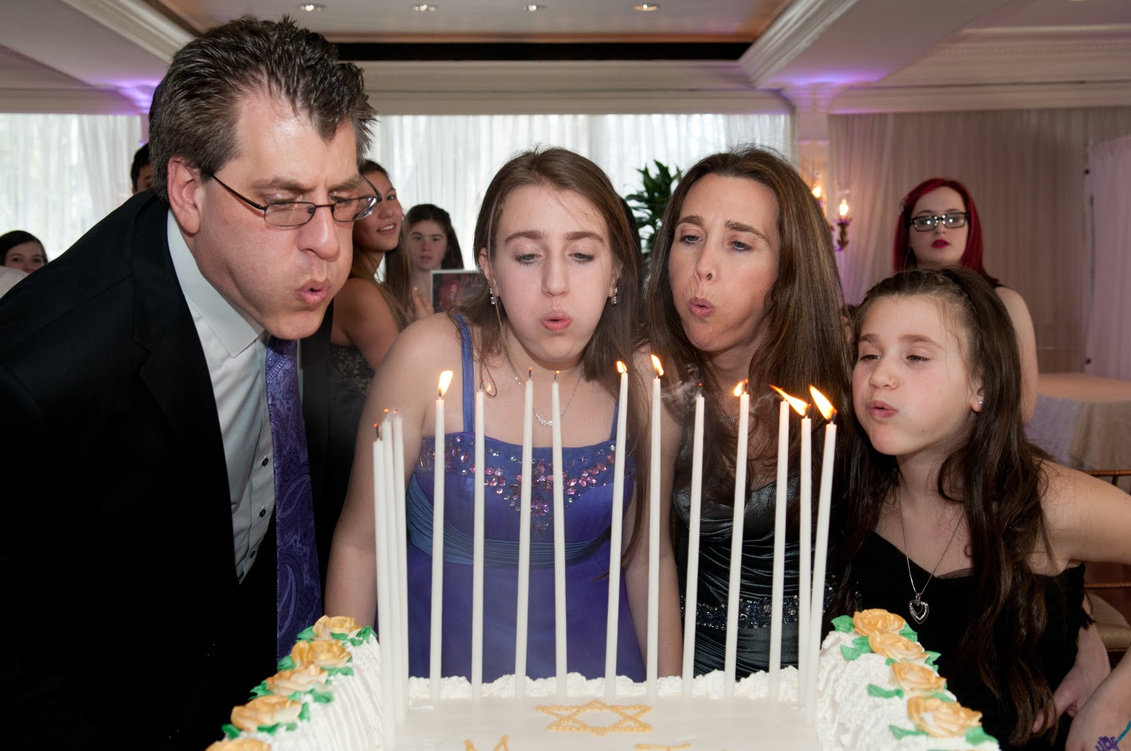 Unique Bar Bat Mitzvah Candle Lighting Ideas