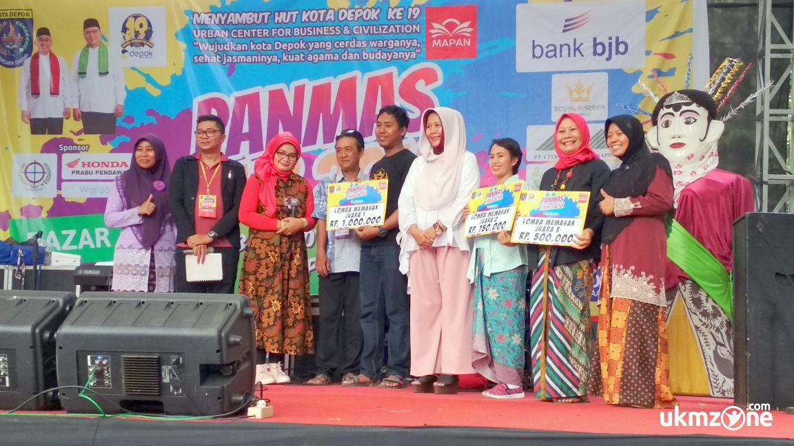 Panmas Fair 2018 penyerahan hadiah simbolis