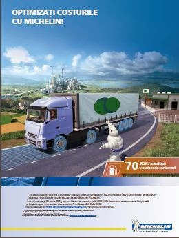 Michelin ajuta transportatorii sa isi optimizeze costul total de posesie