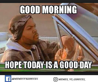 Hope today is a good day