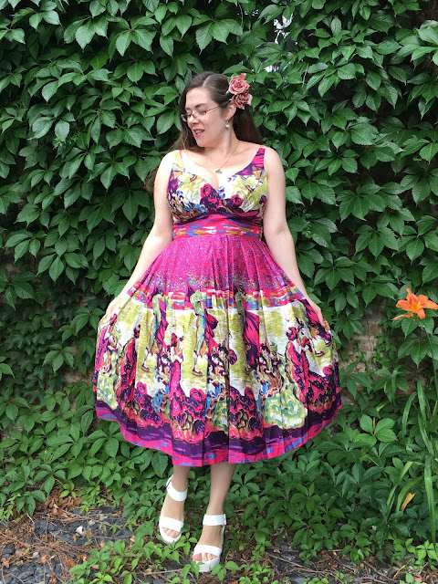 Retrospec'd Flamenco Elizabeth Dress