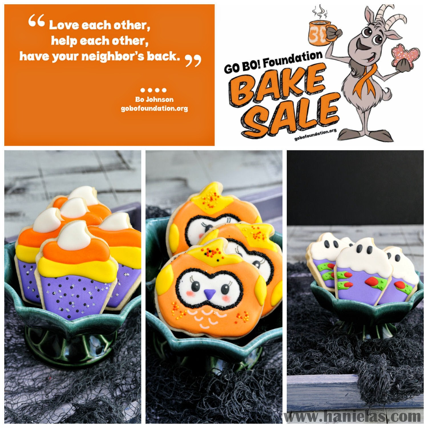 this year ive made 3 halloween designs for the bake sale here you can find tutorials on how to make these decorated cookies candy corn cupcake cookies