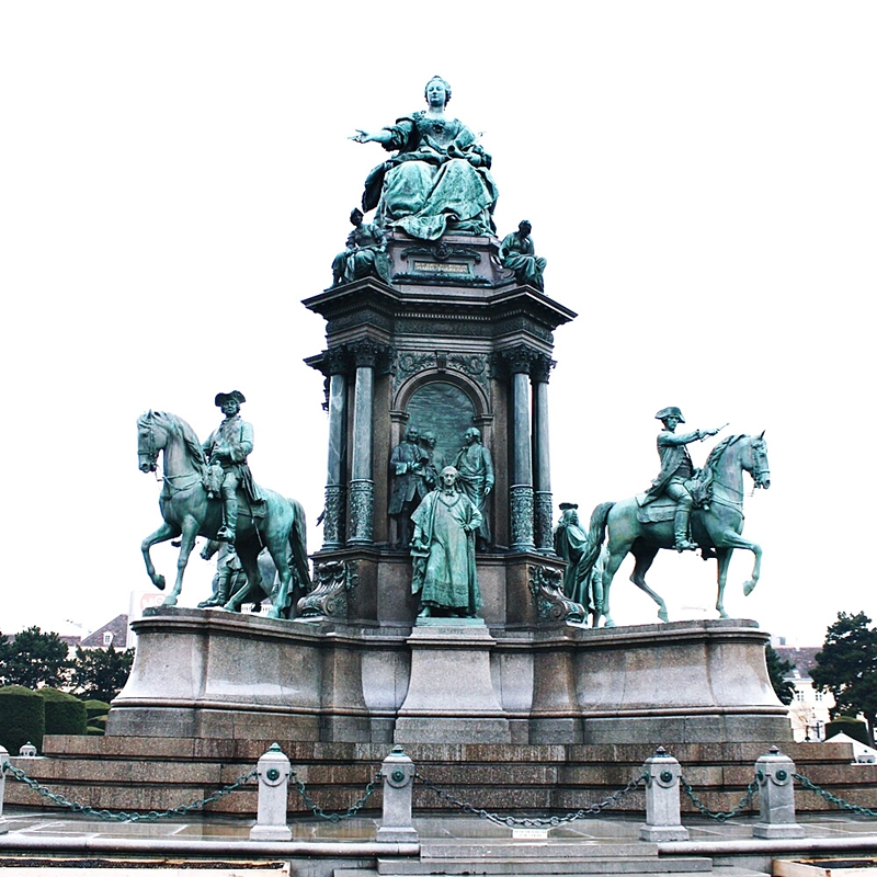 Maria Theresien platz in Vienna visit tour