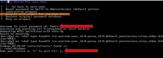 eliminar la contraseña de usuario en windows