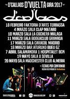 D'Callaos, conciertos 2017