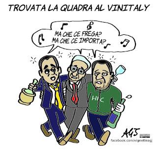 Di Maio, salvini, mattarella, Vinitaly, maggioranza, governo, consultazioni, politica, vignetta, satira