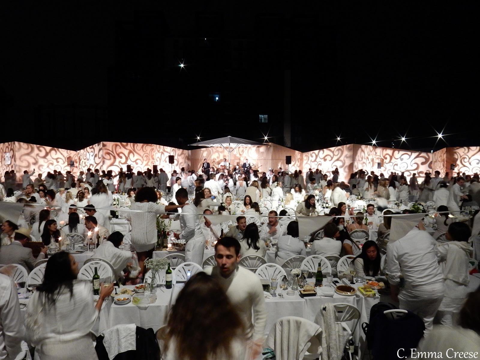 Diner en Blanc Adventures of a London Kiwi