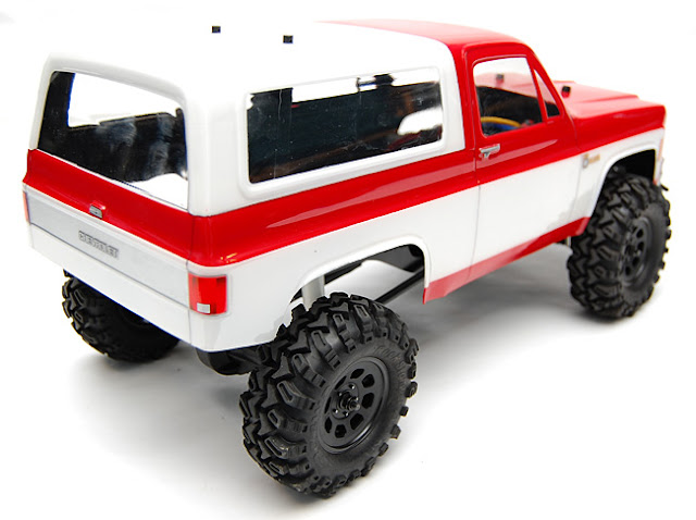 "Axial AX10 X-trail 1.9"" scale truck conversion"
