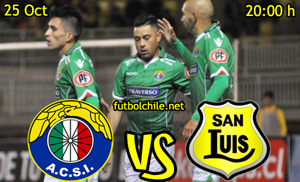 Ver stream hd youtube facebook movil android ios iphone table ipad windows mac linux resultado en vivo, online:  Audax Italiano vs San Luis
