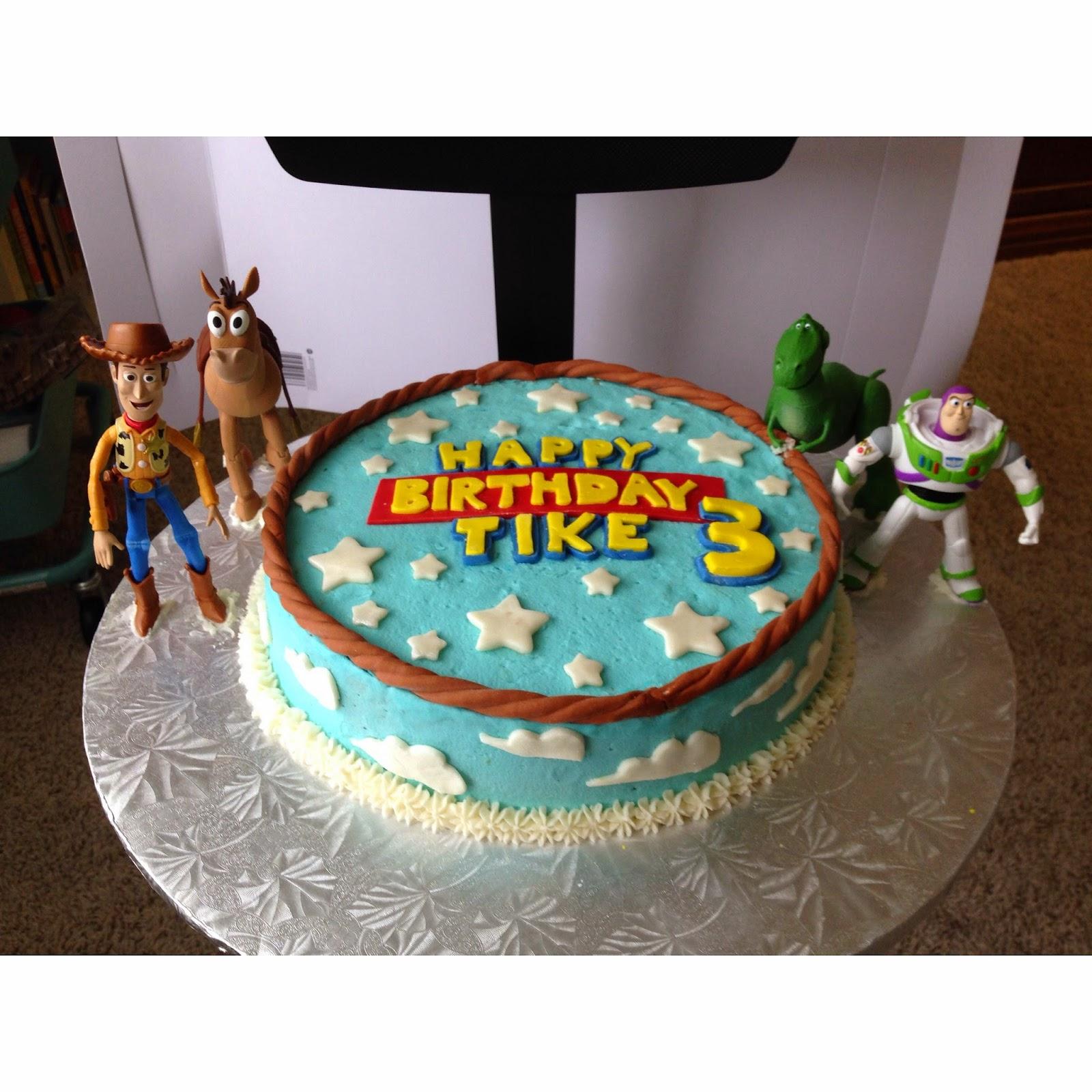 Easy To Make Toy Story Birthday Cake