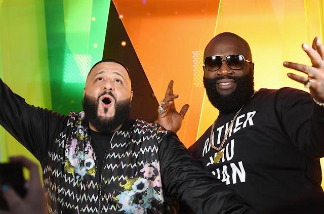 DJ Khaled et Rick Ross - American Music Awards 2016