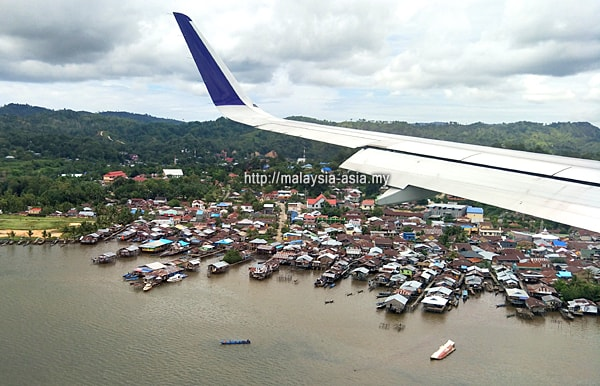 Landing at Raja Ampat