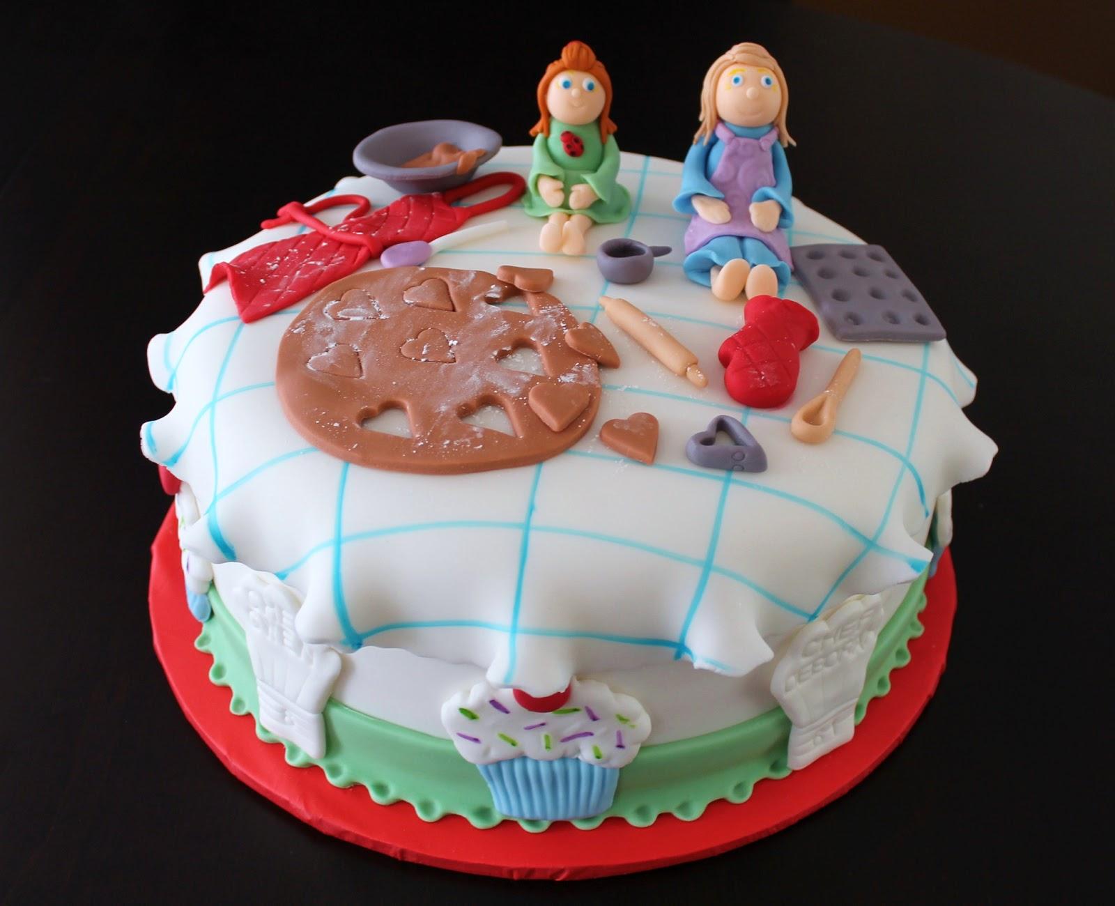 Creative Cakes By Lynn Baking Theme Cake