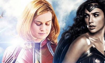 Gal Gadot parabeniza Brie Larson por seu desempenho em Capitã Marvel