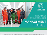 Recruitment PT Badak NGL Hingga 30 April 2018