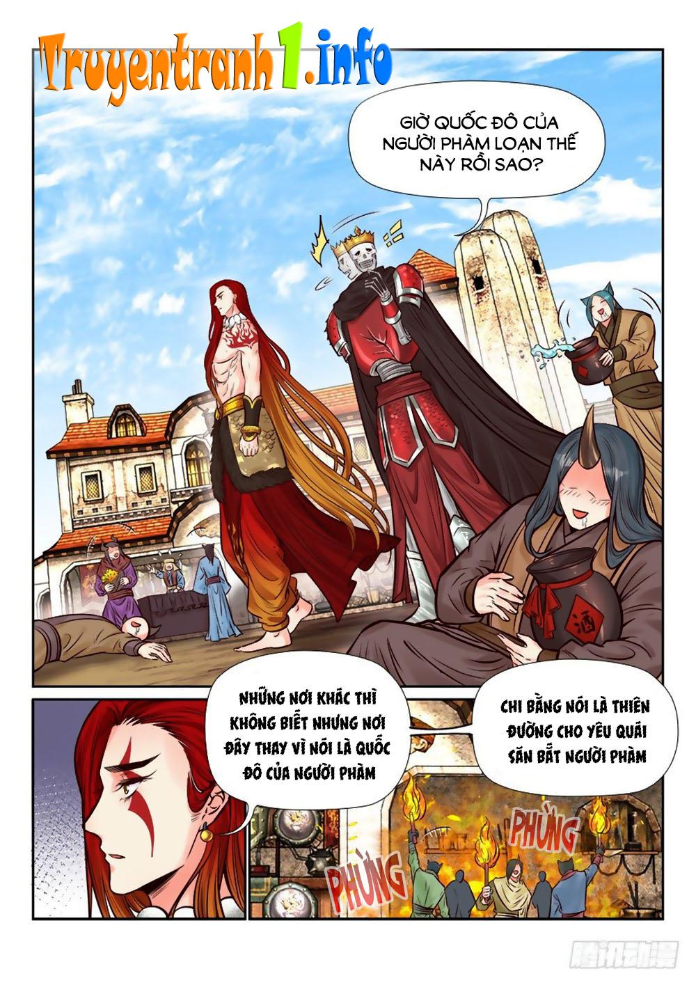 Luôn Có Yêu Quái chap 259 - Trang 10