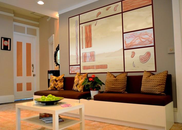 le blog belmon d co verri re et effet vitrail pour ma derni re cr ation. Black Bedroom Furniture Sets. Home Design Ideas