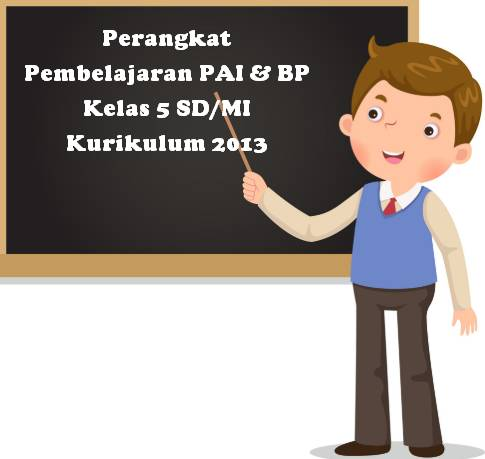 Perangkat Pembelajaran PAI & BP Kelas 5 SD/MI Kurikulum 2013