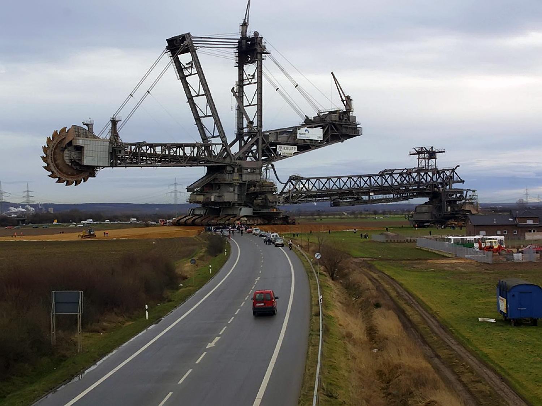 krupp mining machine