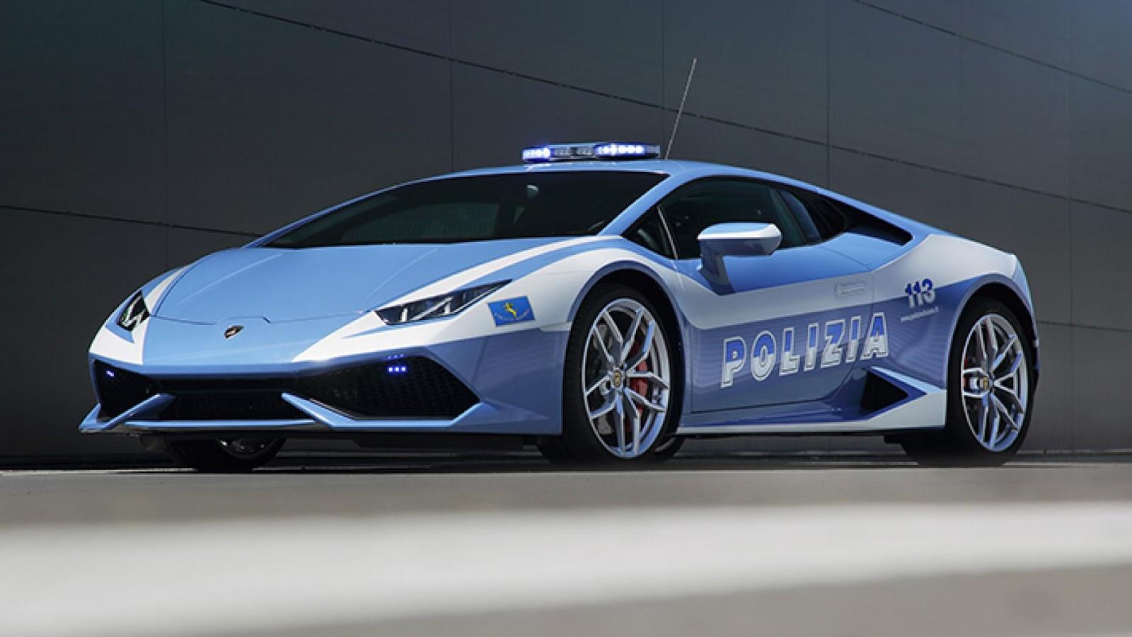 Italian State Police Lamborghini Huracan