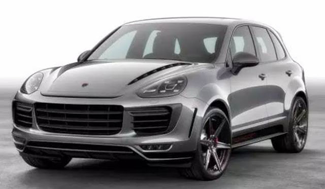 2018 Porsche Cayenne Coupe Turbo Redesign