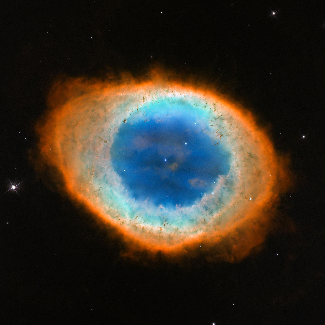 Jean-Baptiste Faure: Planetary Nebula M57, the Ring Nebula