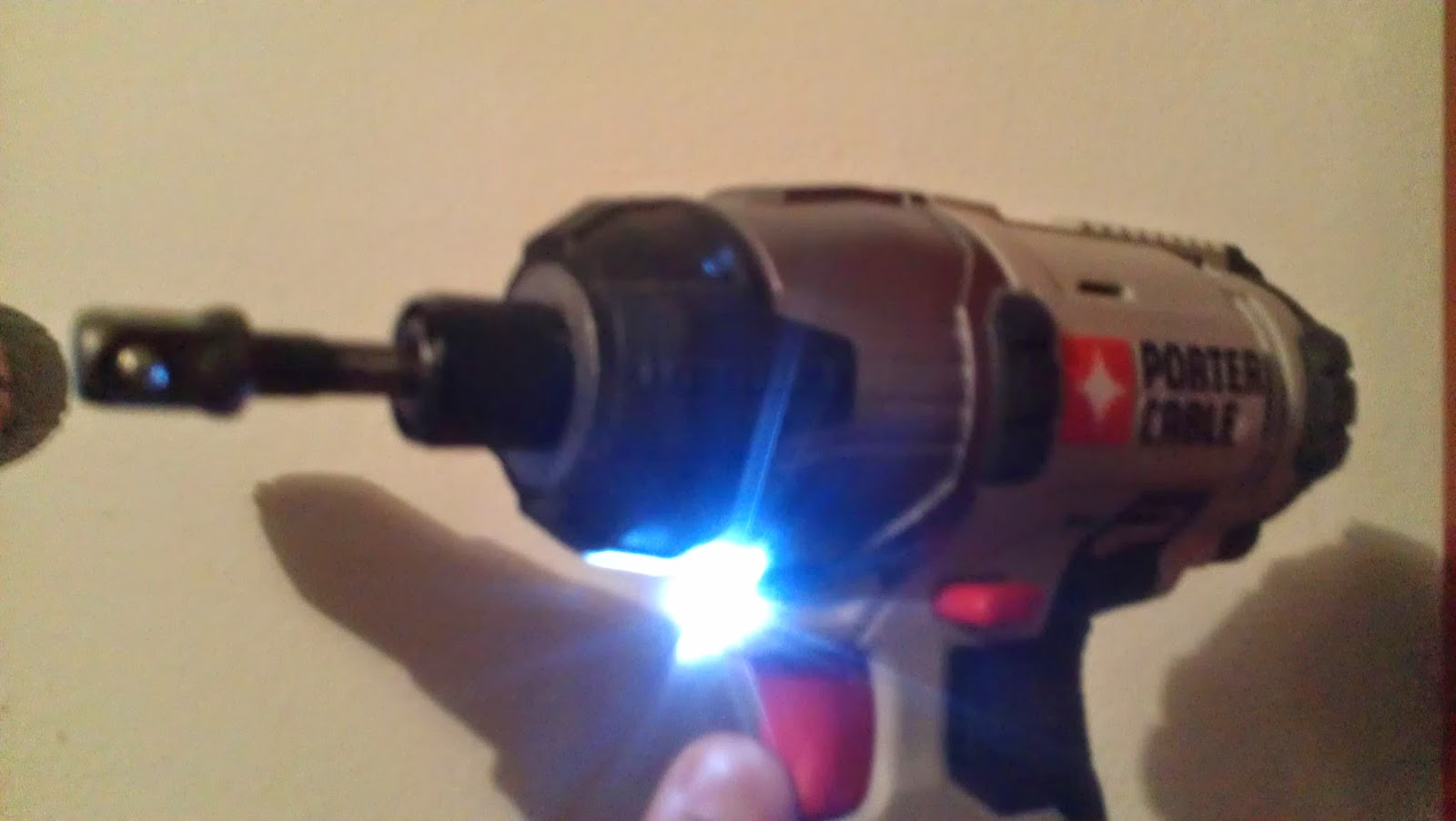Porter cable 20v impact drill review led light