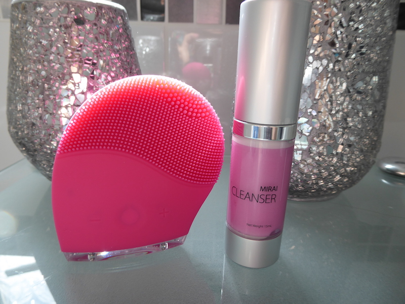 mirai face brush and cleanser review the diary of a jewellery lover