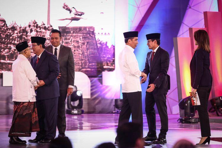 """Hitung Cepat"" Poltracking Data 71,15 Persen: Jokowi-Maruf 55,12 Persen, Prabowo-Sandiaga 44,88 Persen"