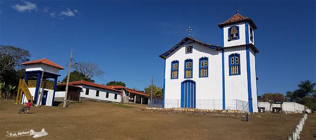Curralinho, Igreja Nossa senhora Rosário, Extração, Diamantina, Minas Gerais, Caminho dos Diamantes, Estrada Real