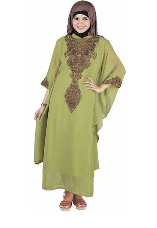 Model Busana Muslim Untuk Wanita Gemuk Dan Pendek The Blouse