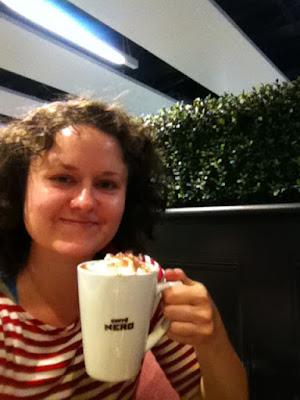 Caffe Nero in Gatwick Airport