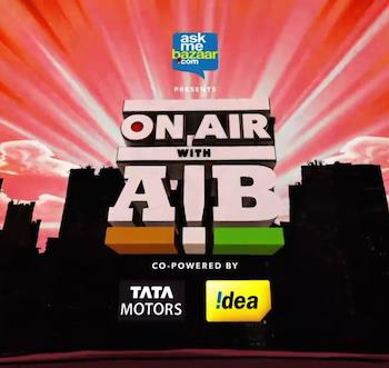 On Air With AIB Episode 09 Hindi 720p HDRip 180mb