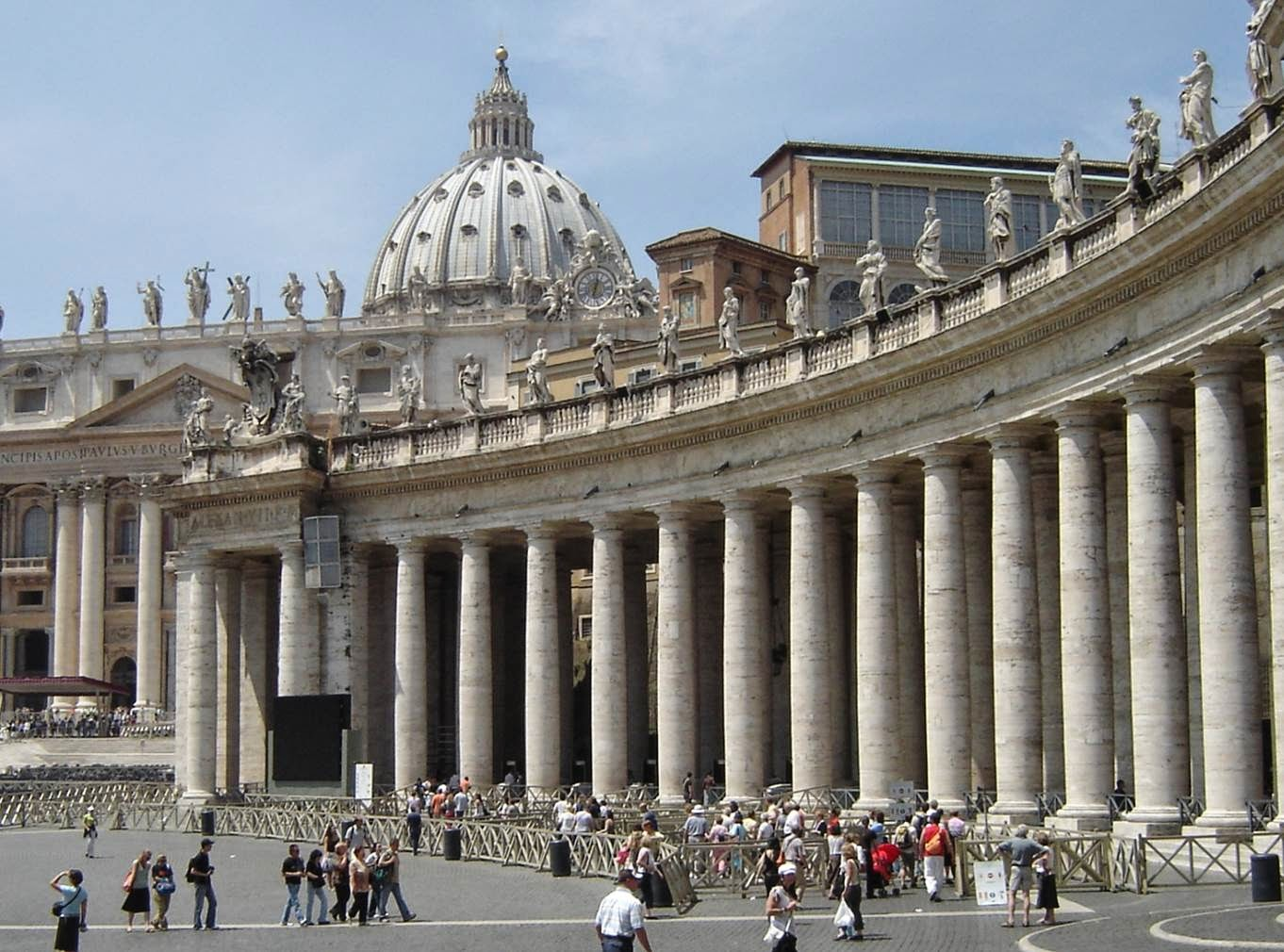 Resultado de imagen de obras bernini arquitectura columnata