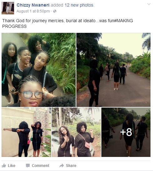 Burial was fun abi? People roast lady over her Facebook post