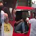LOOK: Lalaking may kapansanan namigay ng libreng surgical mask sa mga motorista at pasahero | FC