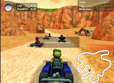 瘋狂小雞卡丁車3(Moorhuhn Kart3),可愛刺激又好玩的賽車競速!
