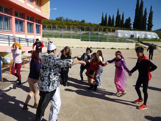 Γιόρτασαν την Τσικνοπέμπτη στο Ενιαίο Ειδικό Επαγγελματικό Γυμνάσιο-Λύκειο Αργολίδας