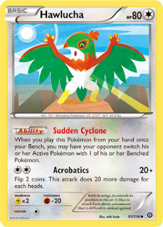 Hawlucha Steam Siege Pokemon Card