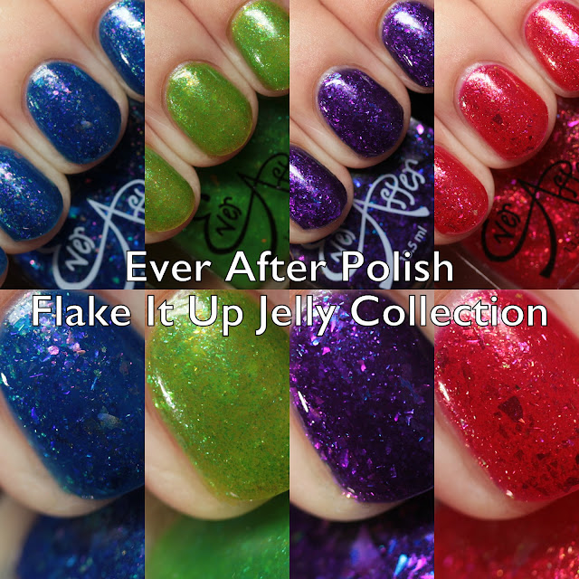 Ever After Polish Flake It Up Jelly Collection