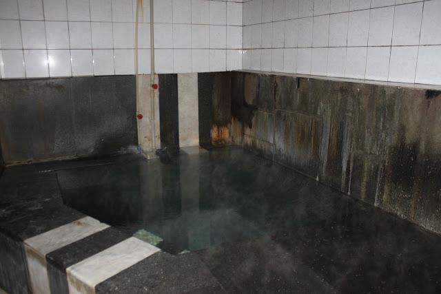 Inside the sulphur baths, Tblisi, Georgia
