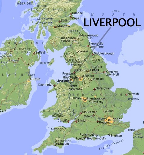 Liverpool City Map Map of Liverpool City Detailed Pictures | Maps of UK Cities Pictures Liverpool City Map